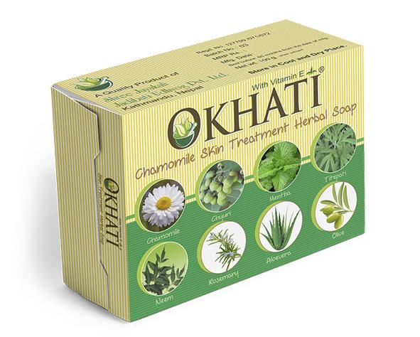 Okhati Chamomile skin soap