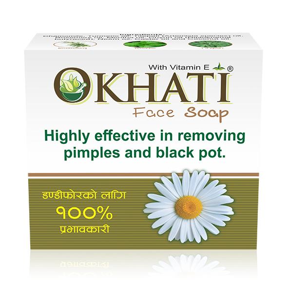 Okhati Face soap vitamin E