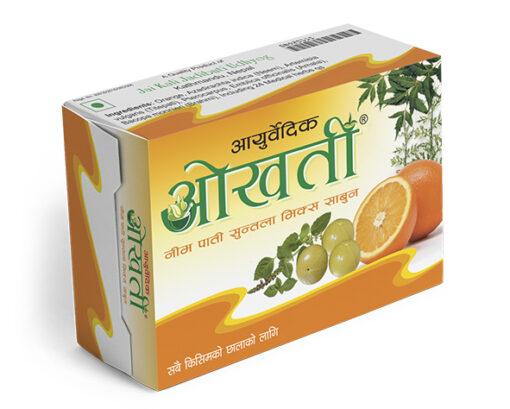 Okhati Neem Orange Soap